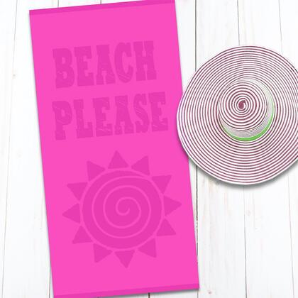 Bavlněná plážová osuška BEACH 80 x 160 cm