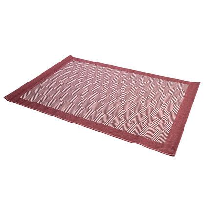 Kusový koberec ADRIA červený