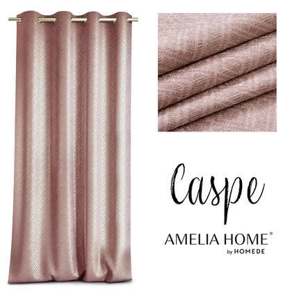 Závěs BLACKOUT CASPE růžový 140 x 250 cm