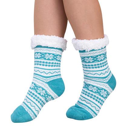 Ponožky na spaní BERIT zelené, vel. 39 - 41