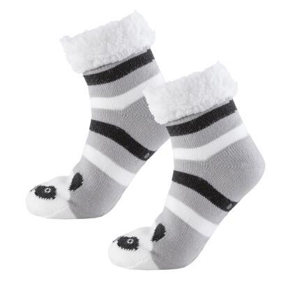 Dětské zimní ponožky na spaní PANDA