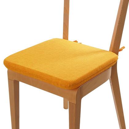 Podsedák s pratelným povlakem žlutá, 1 ks