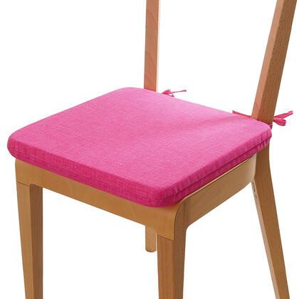 Podsedák s pratelným povlakem růžová, 1 ks