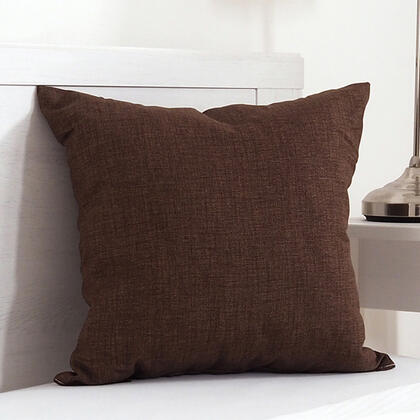 Dekorační polštářek BESSY 45 x 45 cm hnědá