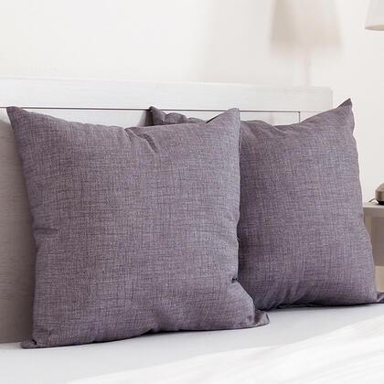 Dekorační polštářek BESSY 45 x 45 cm  šedá, sada 2 ks