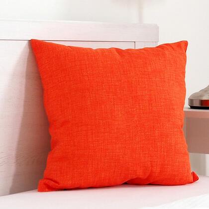 Dekorační polštářek BESSY 45 x 45 cm oranžová
