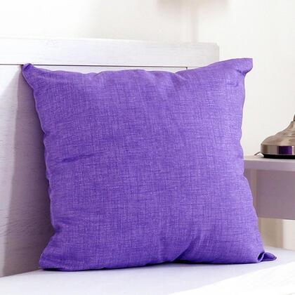 Dekorační polštářek BESSY 45 x 45 cm fialová