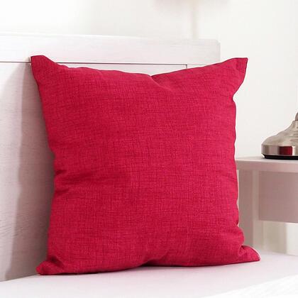 Dekorační polštářek BESSY 45 x 45 cm červená