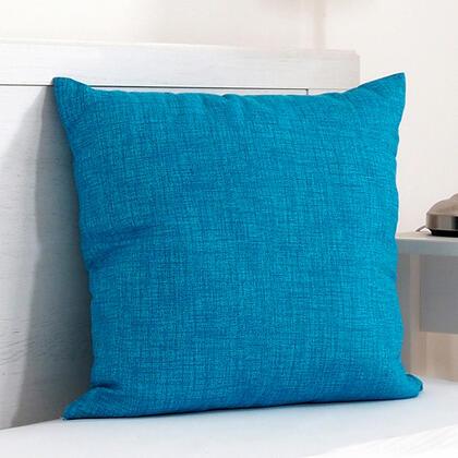 Dekorační polštářek BESSY 45 x 45 cm azurová, 1 ks