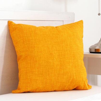Dekorační polštářek BESSY 45 x 45 cm žlutá