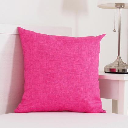 Dekorační polštářek BESSY 45 x 45 cm růžová, 1 ks
