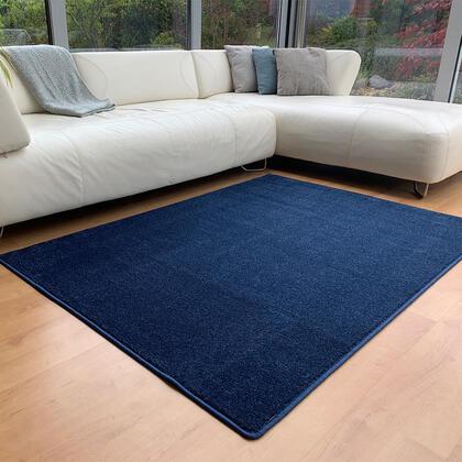 Kusový koberec ETON lux modrý, 140 x 200 cm