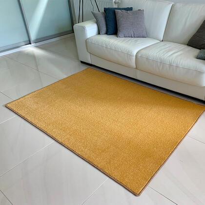 Kusový koberec ETON lux žlutý, 60 x 110 cm