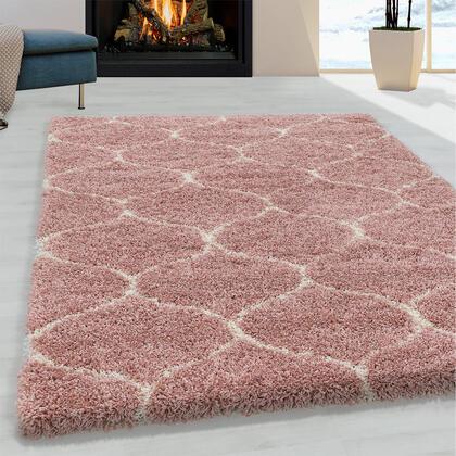 Kusový koberec SHAGGY Salsa růžový