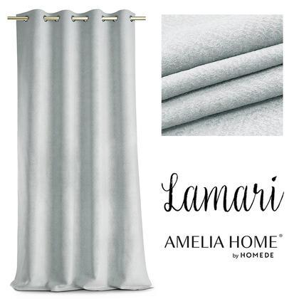 Závěs BLACKOUT LAMARI stříbrný 140 x 250 cm, 1 ks