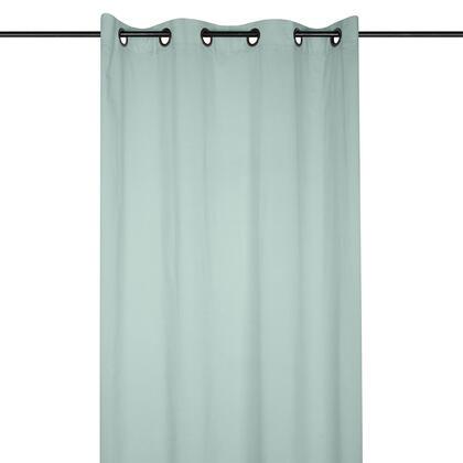 Dekorační bavlněný závěs AUBE jadeit 140 x 260 cm, 1 ks