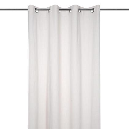 Dekorační závěs z předeprané bavlny WINDSOR krémový 140 x 260 cm, sada 2 ks