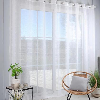 Voálová záclona na francouzské okno CELIAN XXL 300 x 260 cm
