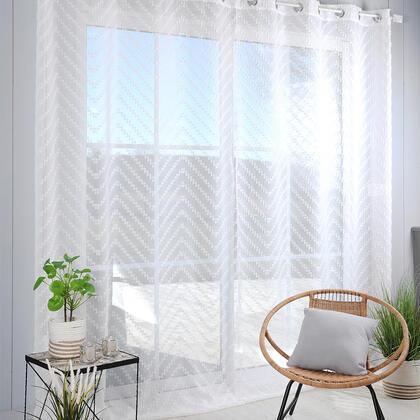 Voálová záclona na francouzské okno DESIGN XXL 290 x 260 cm
