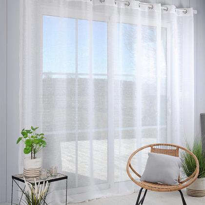 Voálová záclona na francouzské okno CELIAN XXL 300 x 280 cm
