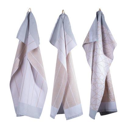 Utěrky z egyptské bavlny  LENKA 50 x 70 cm 3 ks