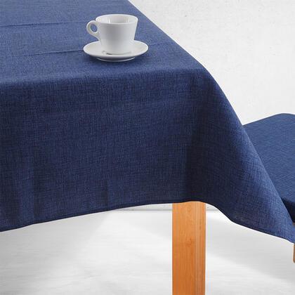 Jednobarevný ubrus BESSY modrý