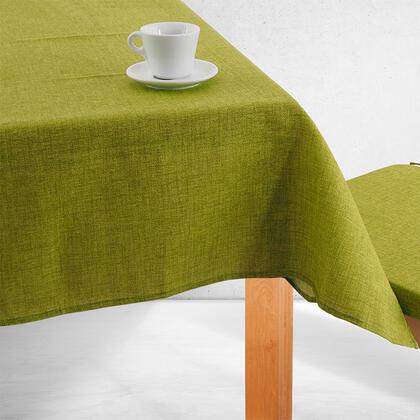 Jednobarevný ubrus BESSY zelený