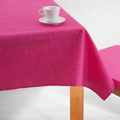 Jednobarevný ubrus BESSY růžový