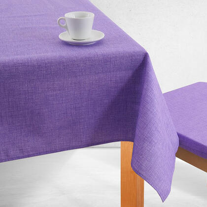 Jednobarevný ubrus BESSY fialový