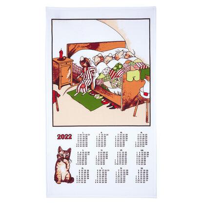 Utěrka - kalendář Myšky 2022