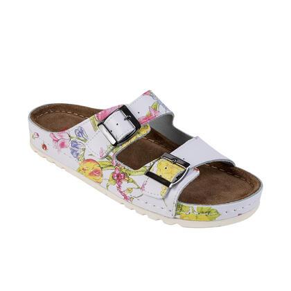 Dámské zdravotní pantofle MEMORY květované