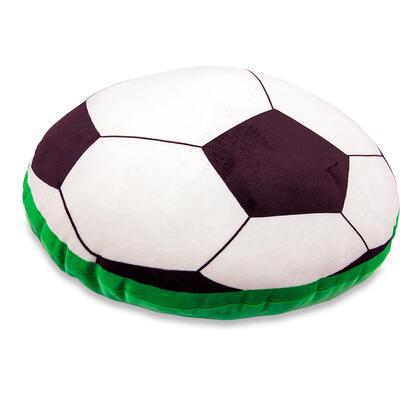 Plyšový fotbalový míč na sezení