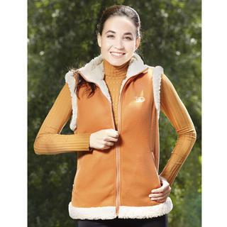 Dámská vesta Sherpa Oranžová XL