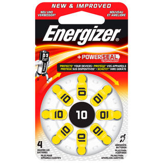 Energizer baterie do naslouchadel A10, 8 ks