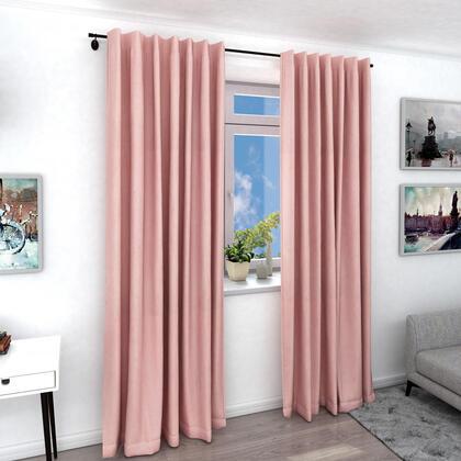 Zatemňovací závěs FREY pudrově růžový, 1 ks 140 x 240 cm