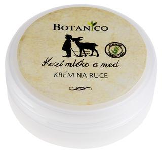 Botanico krém na ruce s kozím mlékem a medem 40 ml