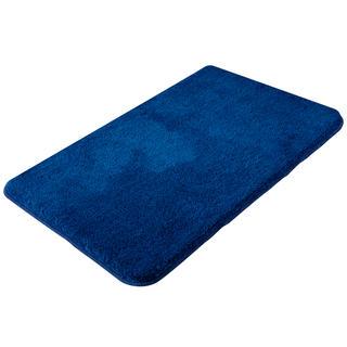 Koupelnová předložka EXCLUSIVE melír modrá, 60 x 100 cm
