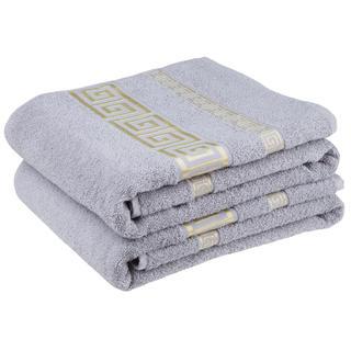 Bavlněné froté ručníky Atény, šedé