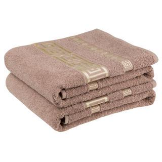 Sada froté ručníků ATÉNY hnědá 50 x 90 cm