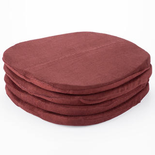 Sada froté sedáků čokoládová 4 ks 38 x 38 cm