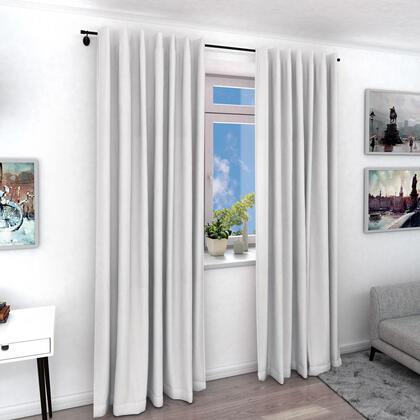 Zatemňovací závěs KNUT bílý, 1 ks 140 x 240 cm