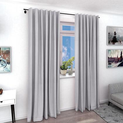 Zatemňovací závěs ODIN šedý, 1 ks 140 x 240 cm