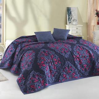 Přehoz na postel Papirus Blue modrá