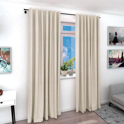 Zatemňovací závěs SVEN smetanový, 1 ks 140 x 240 cm