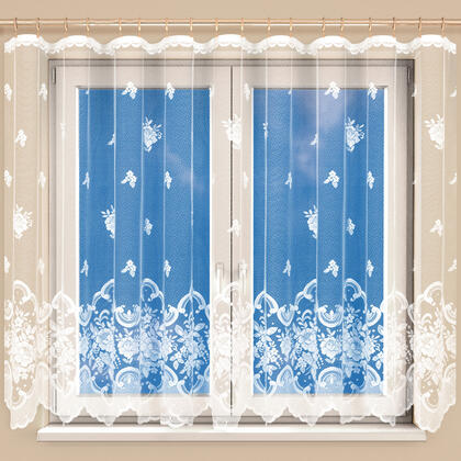 Hotová žakárová záclona AURÉLIE 350 x 160 cm