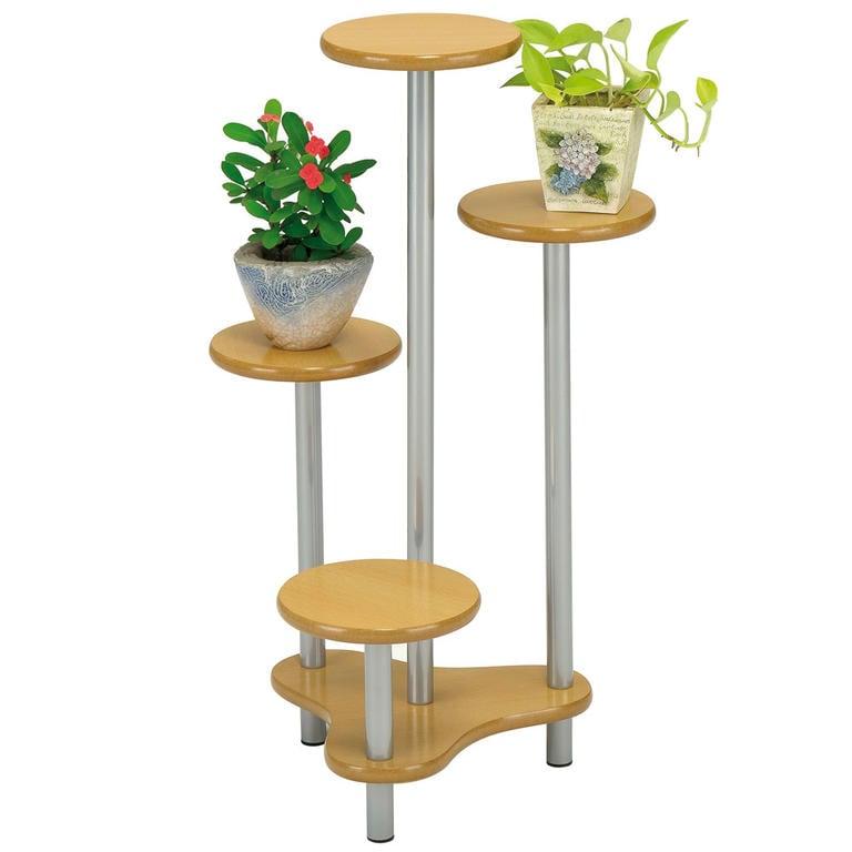 Květinový stolek světlý - 1