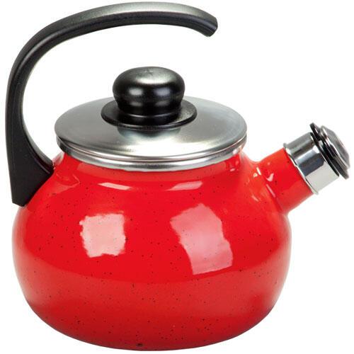 Smaltovaná čajová konvice