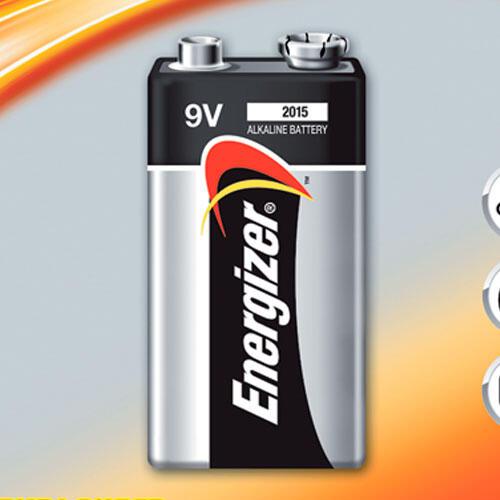 Alkalická baterie Energizer 9V  - 1