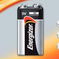 Alkalická baterie Energizer 9V - 1/2