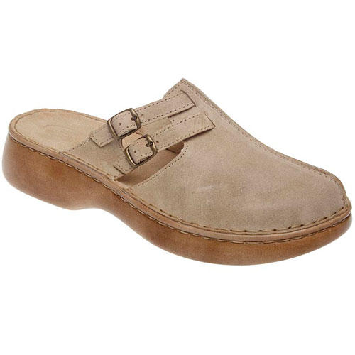 Dámské pantofle s plnou špičkou volanato